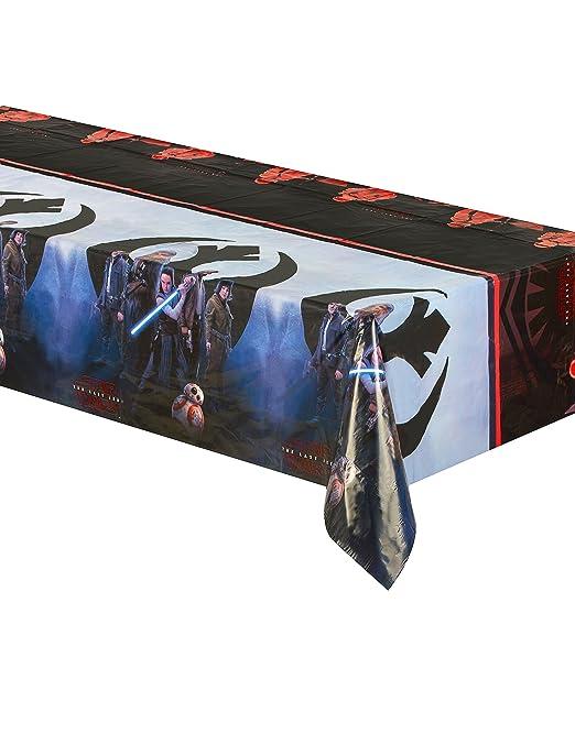 Mantel plástico Star Wars 8 The Last Jedi 120 x 180 cm