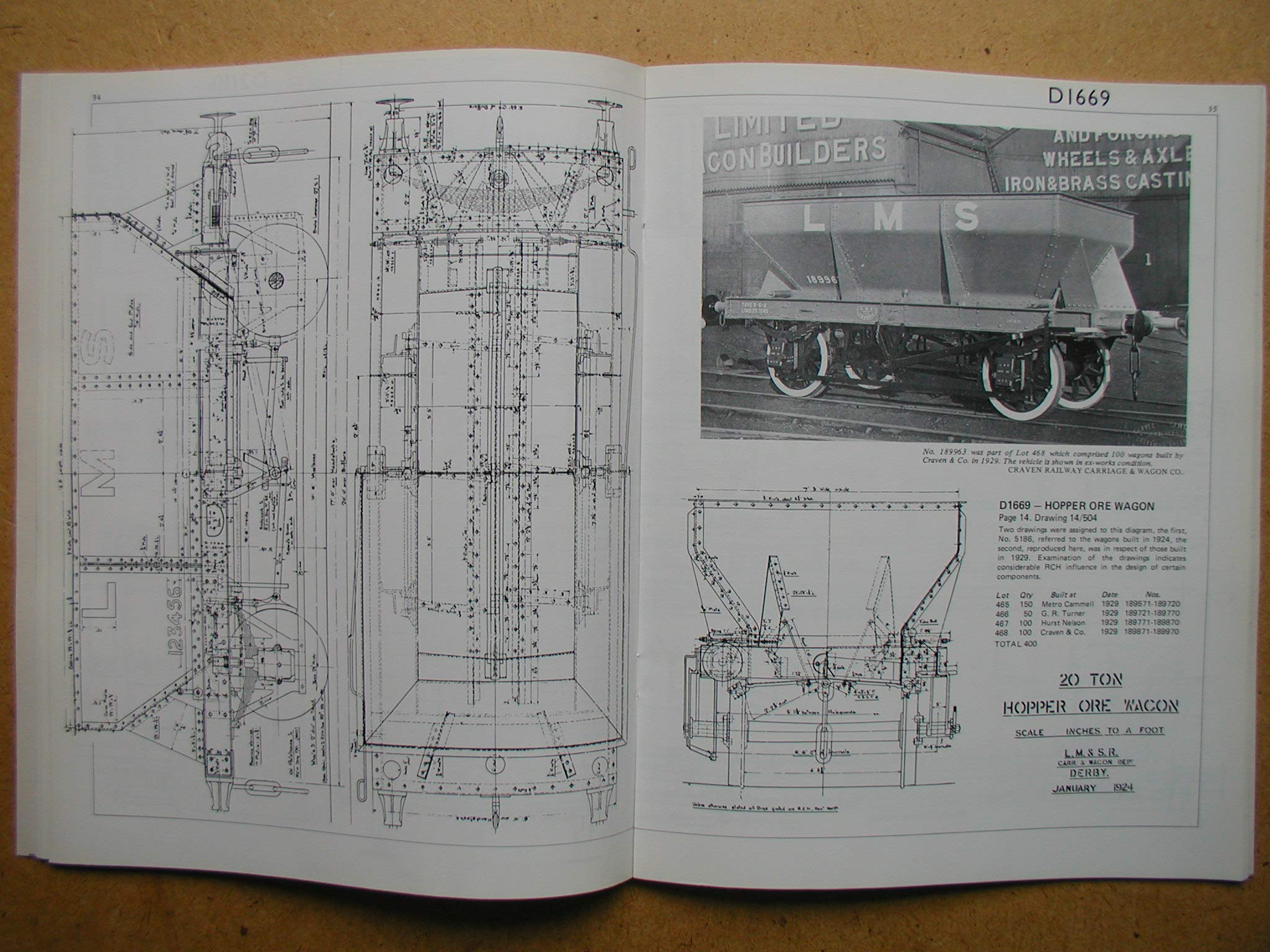 Official Drawings: London, Midland and Scottish Railway Wagons No  2