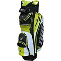 Masters Golf - T:900 Trolley Bag Black/White/Lime