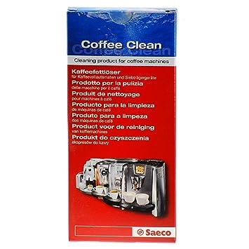 Saeco 21001040 Limpiador para la limpieza de grasa en las máquinas de café: Amazon.es: Hogar