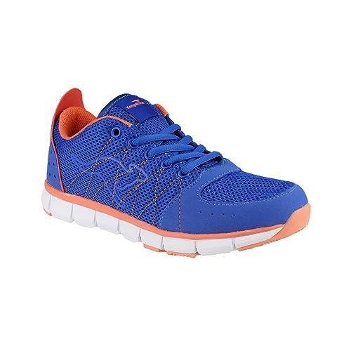 Kangaroos - Zapatillas Deportivas Modelo KR3271A Luke para Mujer (39 EU/Azul/Rosa