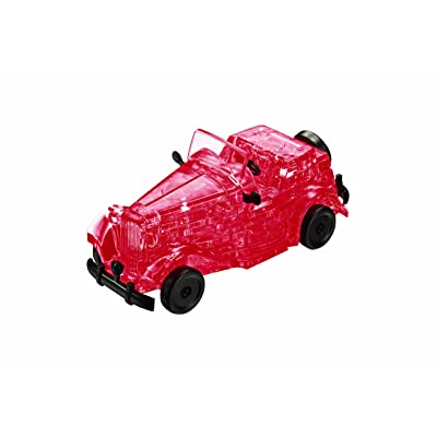 Original 3D Crystal Puzzle - Classic Car: Toys & Games