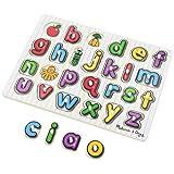 Melissa & Doug See-Inside Alphabet Wooden Peg Puzzle (26 pcs) (LC)