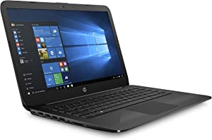 HP Stream 14 Inch Laptop (2018 New), Intel Celeron N3060 Processor, 4GB RAM, 32GB eMMC Storage, Office 365 Personal 1-year included, Windows 10 Home, Jet Black