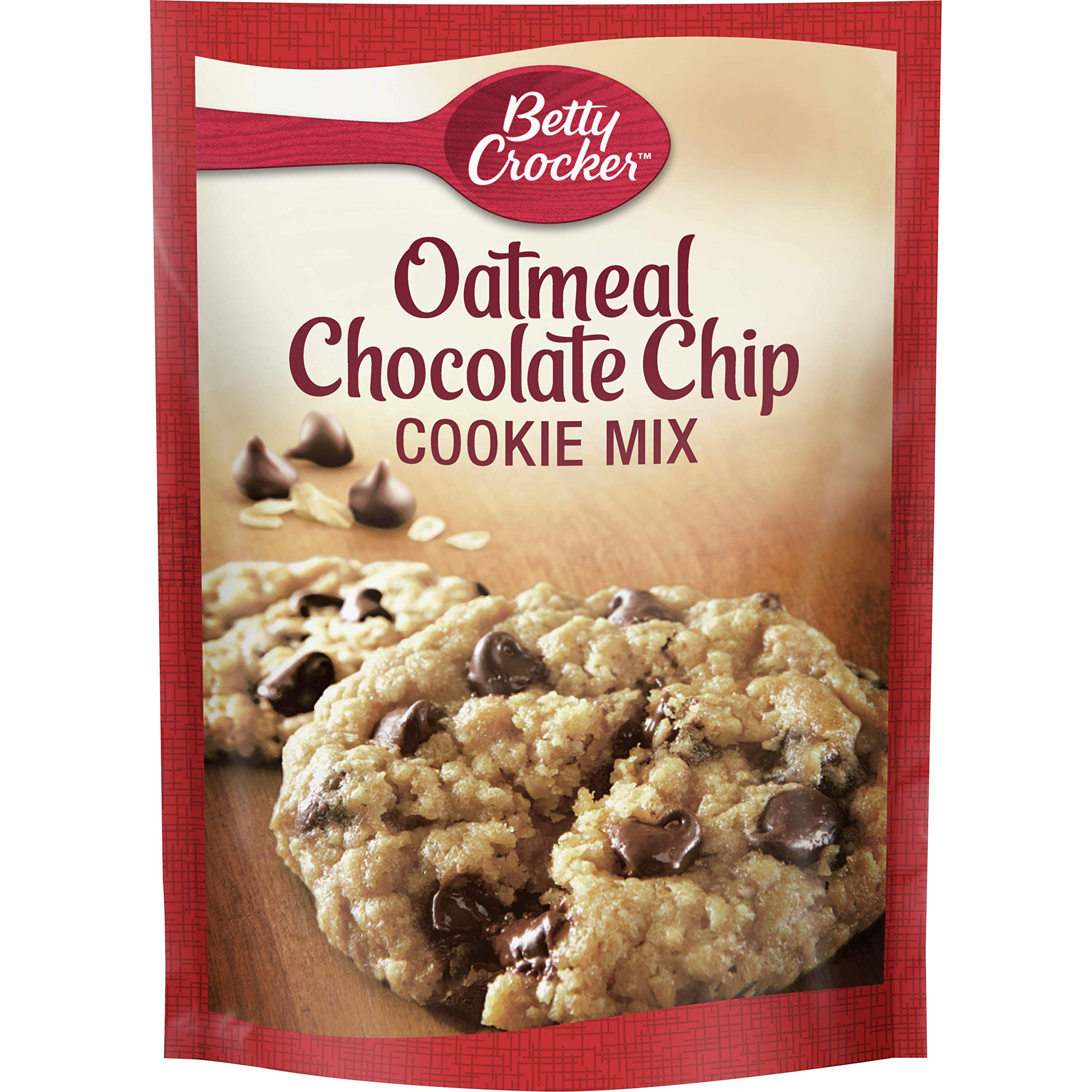 Betty Crocker Cookie Mix, Oatmeal Chocolate Chip, 17.5 oz