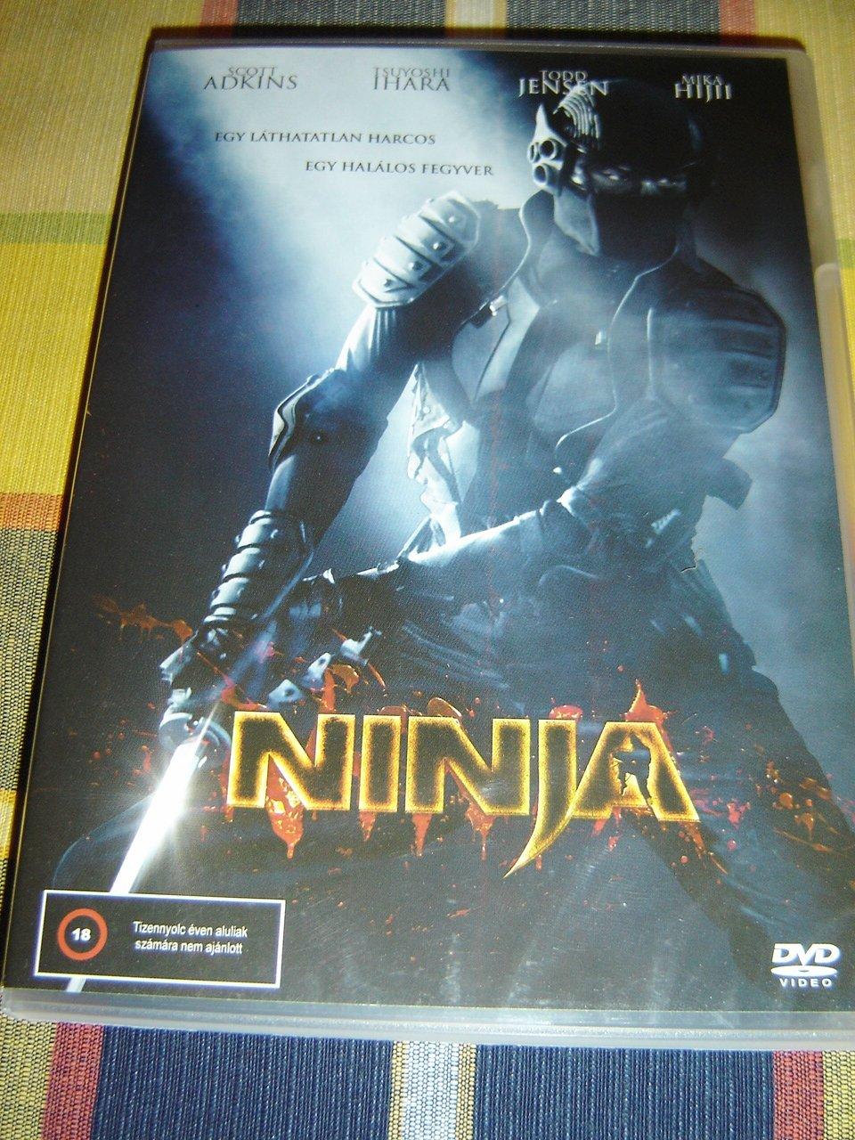 Amazon.com: Ninja (2009) / Nindzsa: Scott Adkins, Tsuyoshi ...