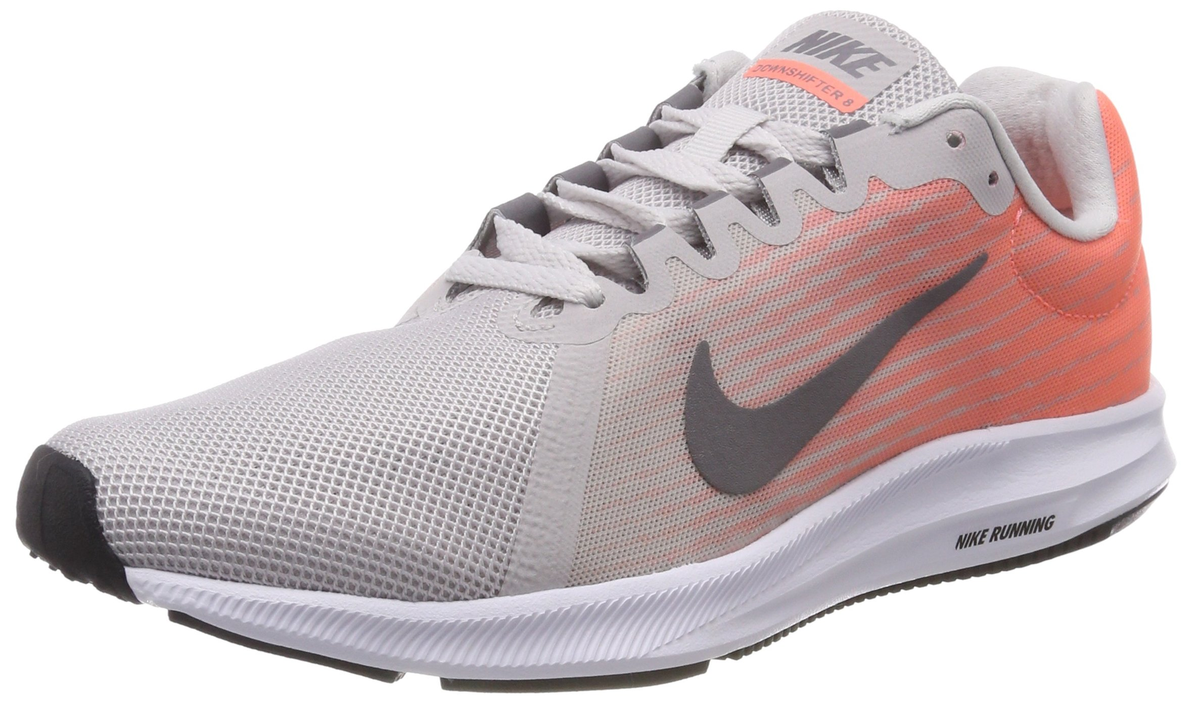 e83d84197d7a6 Nike Women's Downshifter 8 Running Shoes (9, Grey/White/Pink)