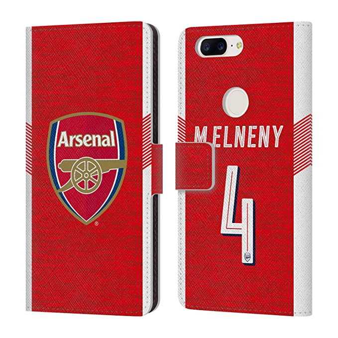 Image Unavailable. Image not available for. Color  Official Arsenal FC Mohamed  Elneny 2018 19 Players Home Kit ... 7a11320d5