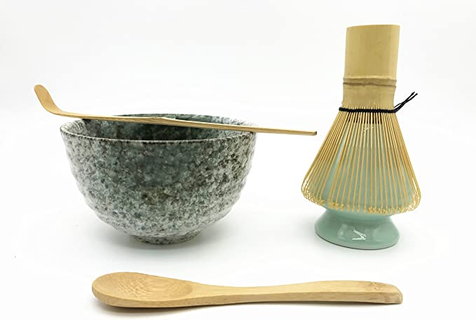 HANBIN cuchara de polvo de matcha Herramienta de matcha cucharadita de bamb/ú general accesorios para la ceremonia del t/é utensilios para raspar la ceremonia del t/é cucharadita de cuchara de t/é de