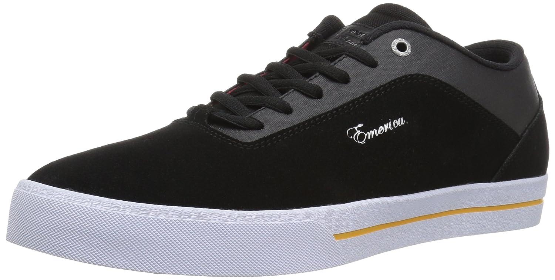 Emerica Men's G-Code Re-up X Vol 4 Skate Shoe 11 D(M) US|Black/White/Gold