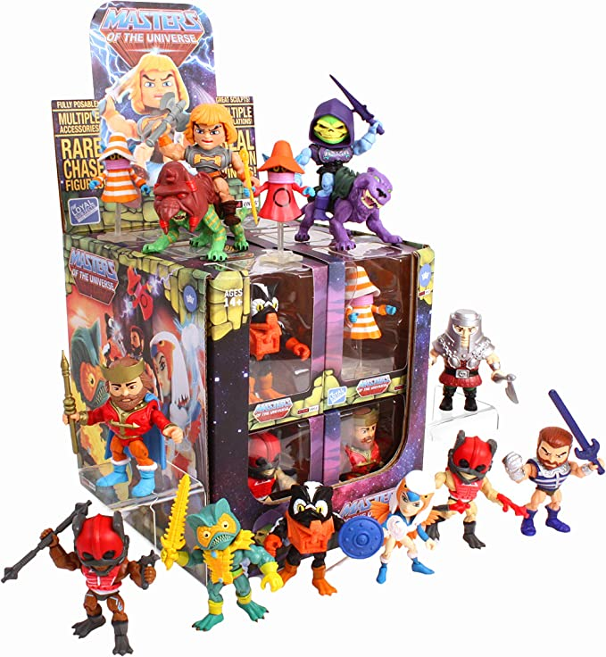 THE LOYAL SUBJECTS Stratos Master Of The Universe Wave 1 Designer Toy Art Mestres Do Universo