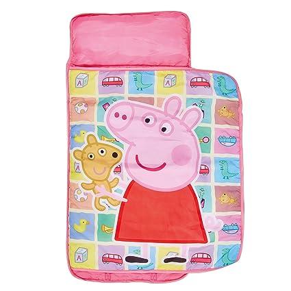 familie24 Peppa Pig Cosy Wrap 110 x 72 Saco de Dormir Saco de Dormir Infantil Camping