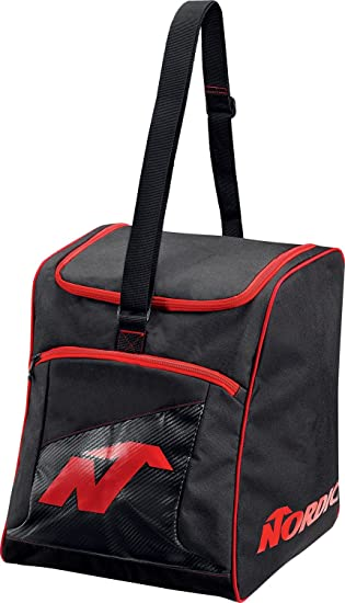 Amazon.com : Nordica Boot Bag 2017 - Black/Red : Sports ...