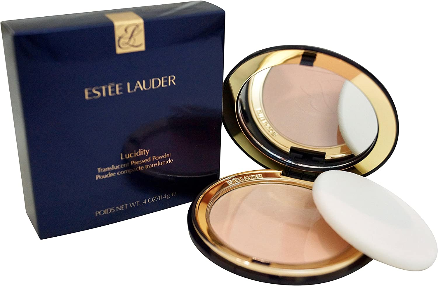 B0002DP4MY Estee Lauder Lucidity Translucent Pressed Powder, No. 02 Light/Medium-Normal/Combination/Dry Skin, 0.4 Ounce 81pKw80HlNL