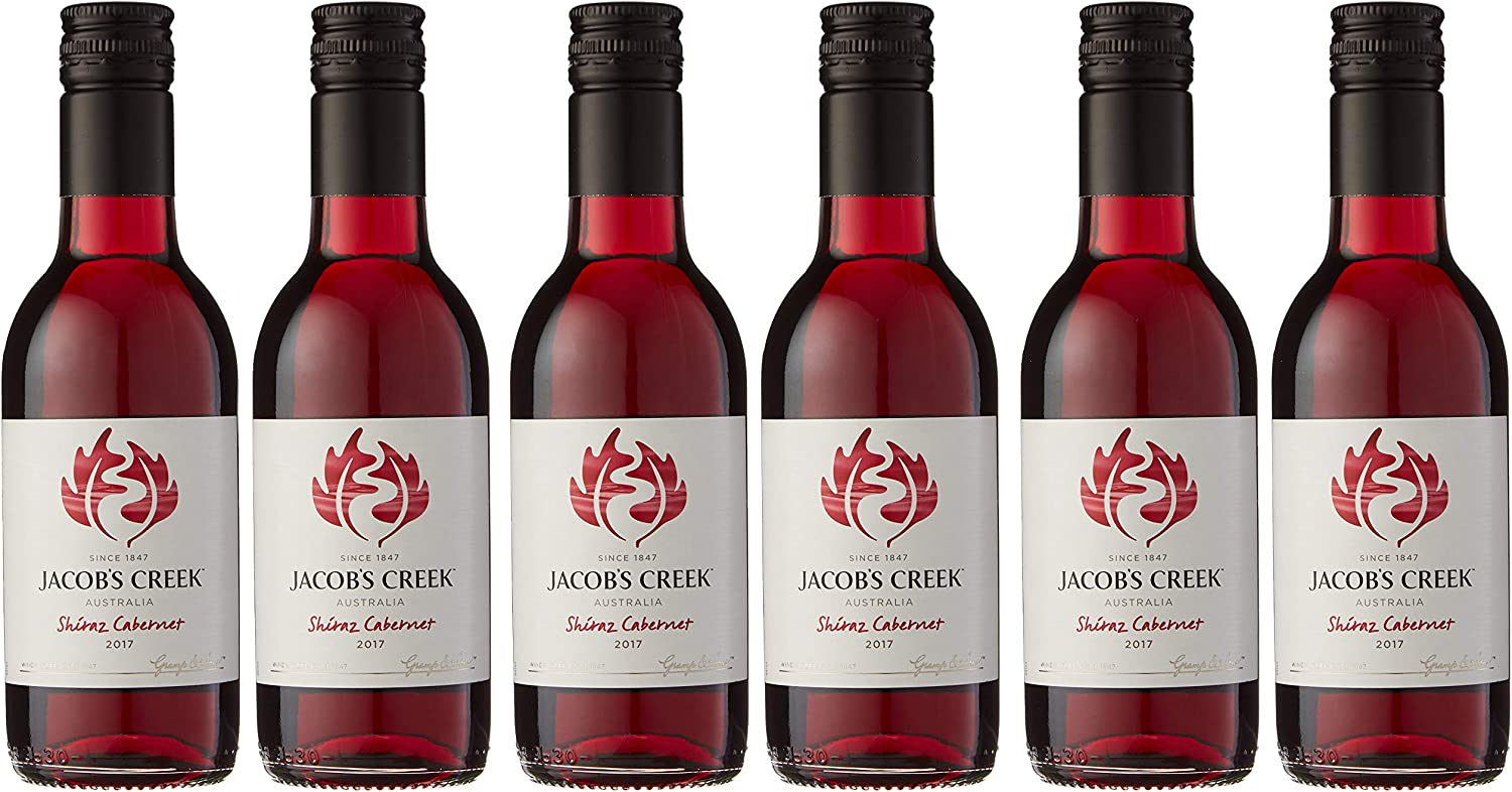 Jacobs Creek Classic Shiraz Cabernet Red Wine 18 7 Cl Case Of 6 Amazon Co Uk Grocery
