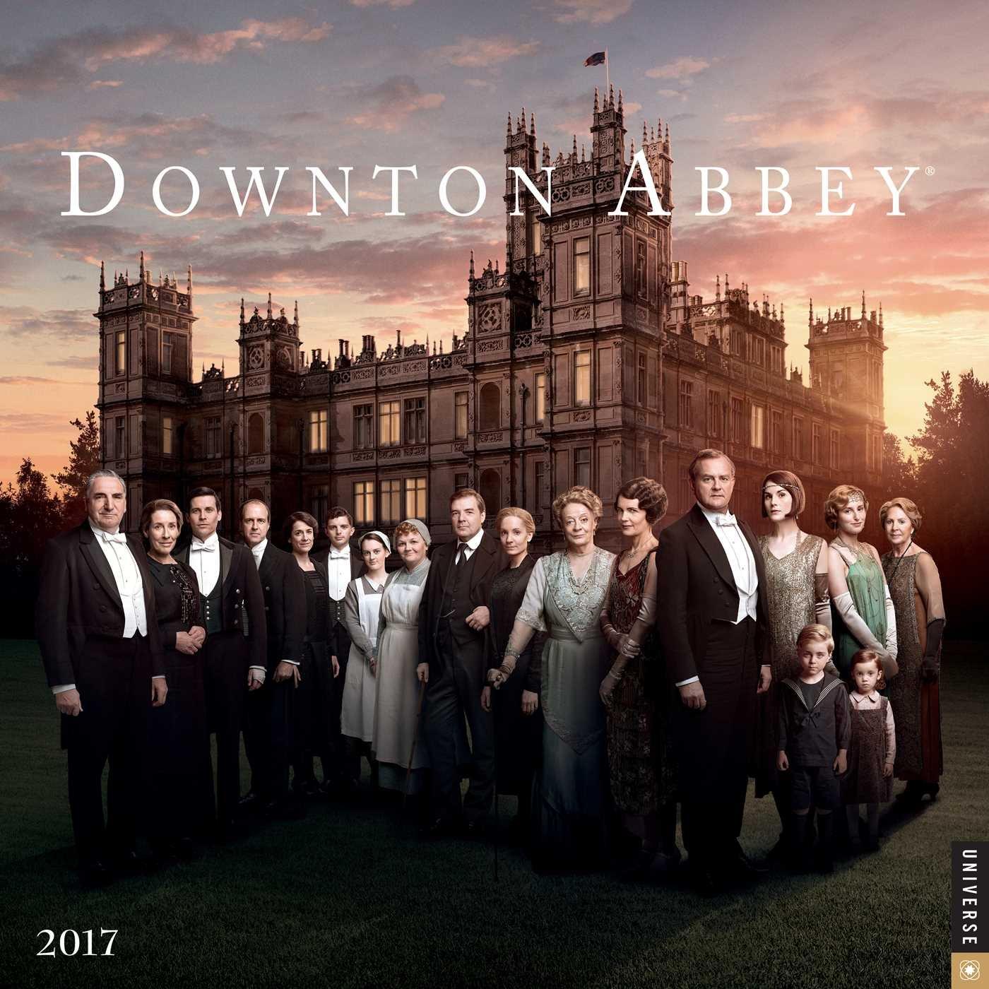 Downton Abbey 2017 Wall Calendar by Universe Publishing