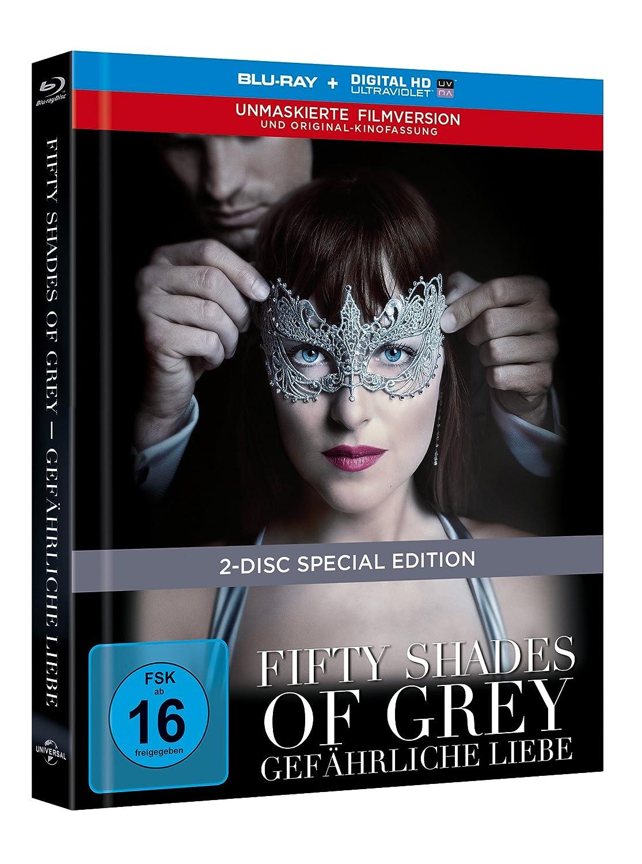 Fifty Shades Of Grey 2 Gefährliche Liebe Limited Digibook Blu