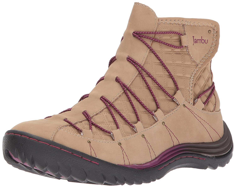 Jambu Women's Spirit Vegan Ankle Bootie B06XMRL97V 9 B(M) US|Tan