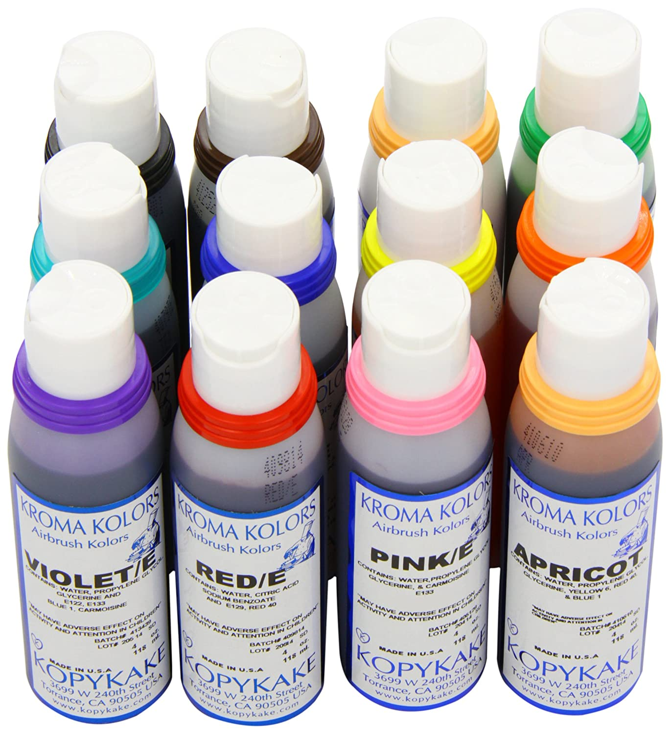 Kroma Colours 118 ml (Set of 12): Amazon.co.uk: Grocery