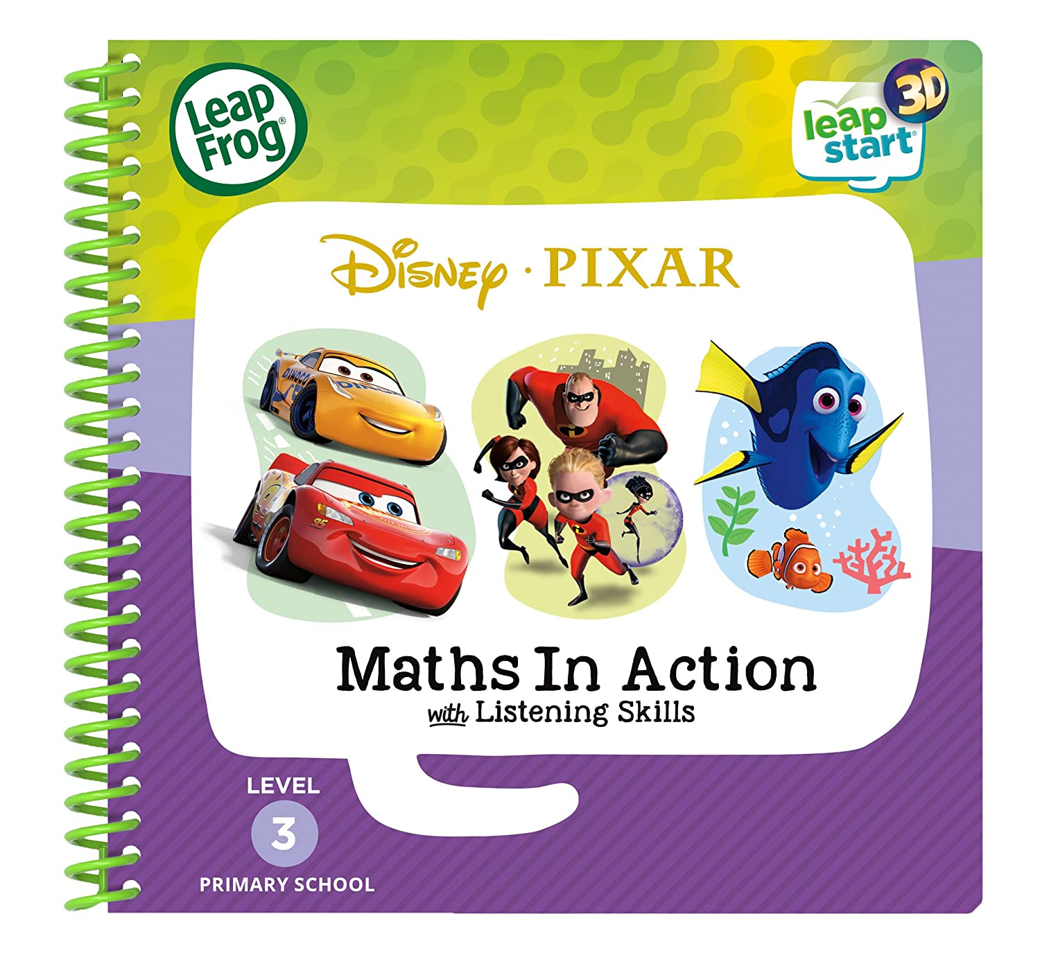 Multi One Size LeapFrog 461903/3D Activity Buch Pixar Pals Learning Spielzeug