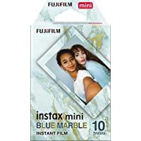 instax mini film BLAUWMARBLE, 10 shot pack