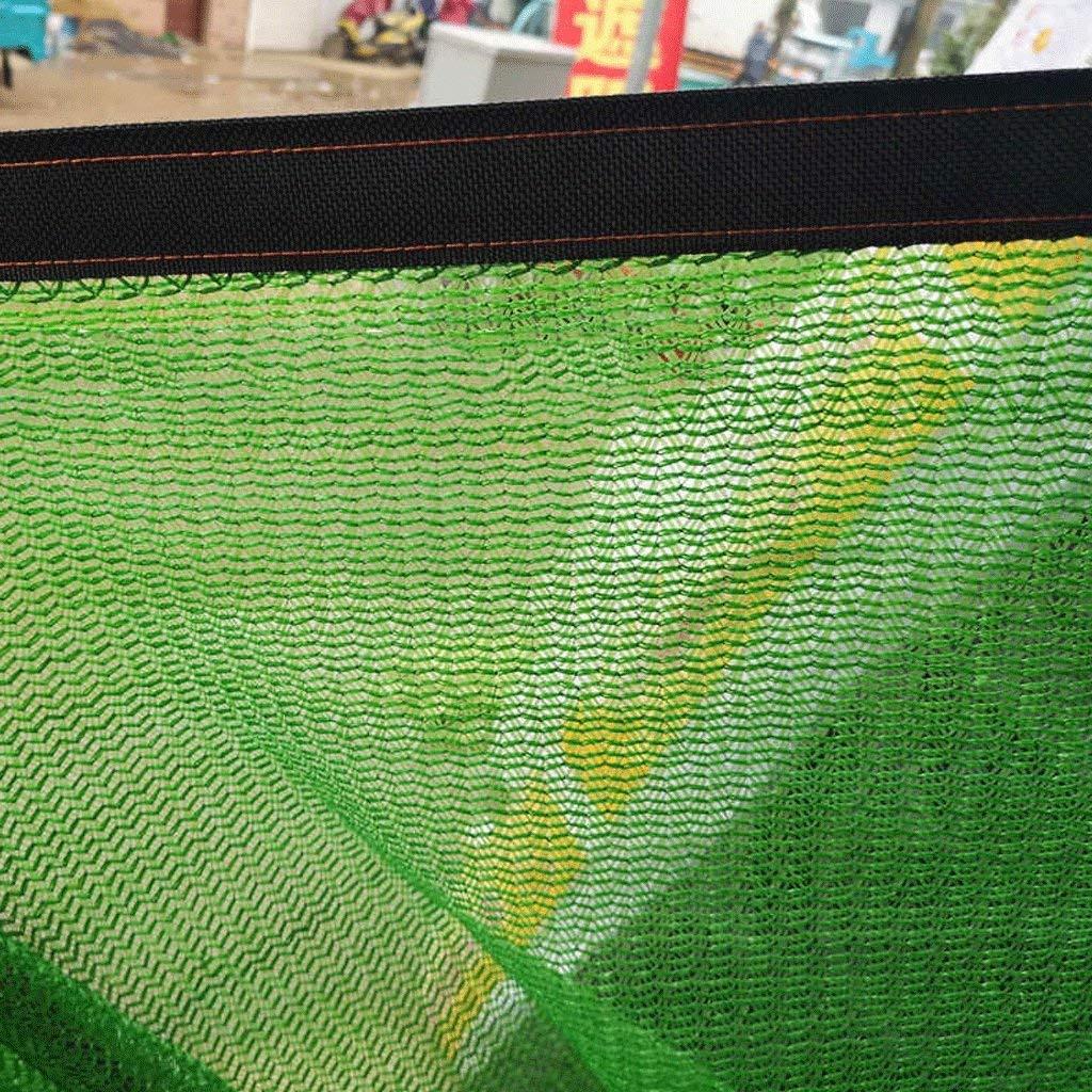 Vert Taille : 2x5M AI LI WEI B/âche Filet Pare-Soleil Protection Solaire Cryptage /Épaississement Balcon Fleur Cour charnue Isolation du Toit ext/érieur Filet Filet de Protection B/âche