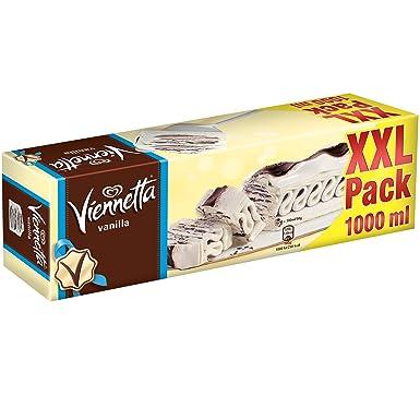 Viennetta Vainilla XXL - Helado sabor nata con capas al chocolate, 500 g