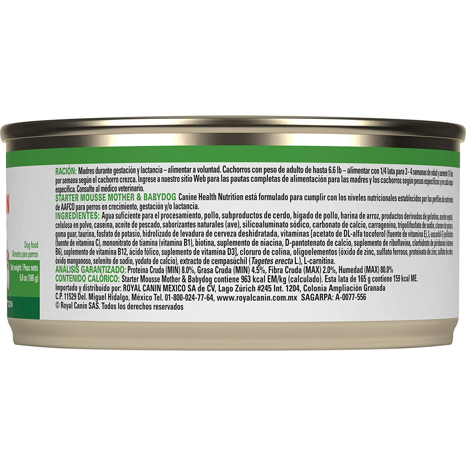 Royal Canin Canine Health Nutrition Starter Mousse Canned Dog Food, 5.8 Oz Cans, Pack of 3: Canned Wet Pet Food: Pet Supplies: Amazon.com