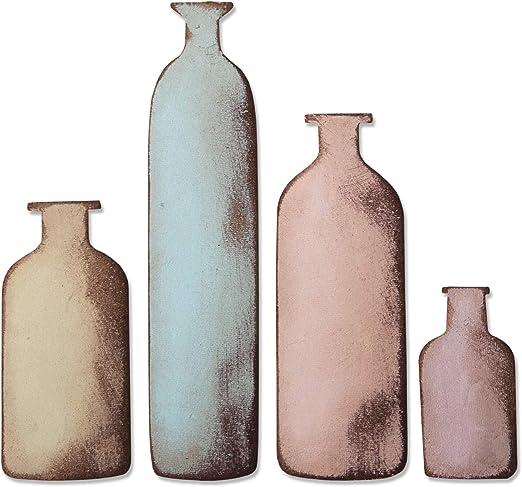 Apothecary Bottles Inch Sizzix 658715 Bigz Die 5.5 x 6