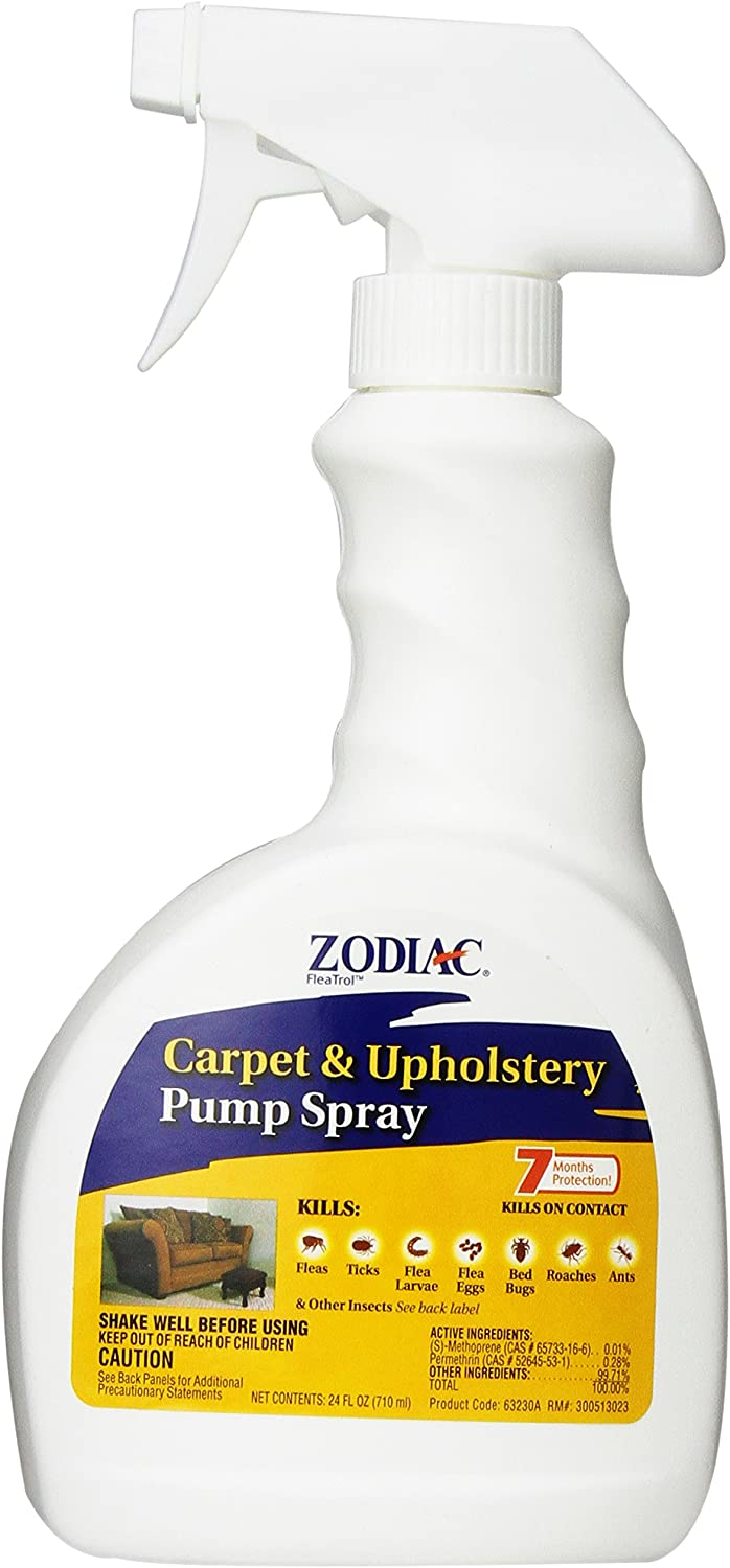 Zodiac Carpet & Upholstery Pump Spray, 24-ounce