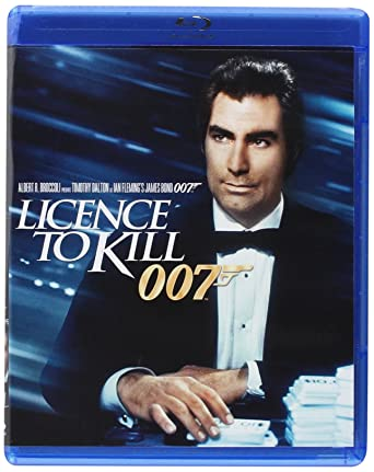 Licence to Kill [Blu-ray] [1989] [US Import]: Amazon co uk: DVD