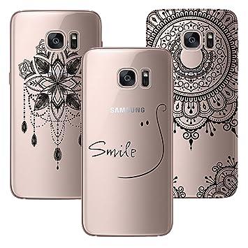 COCouple Fundas para Samsung Galaxy S7 Edge Carcasa Dibujos ...