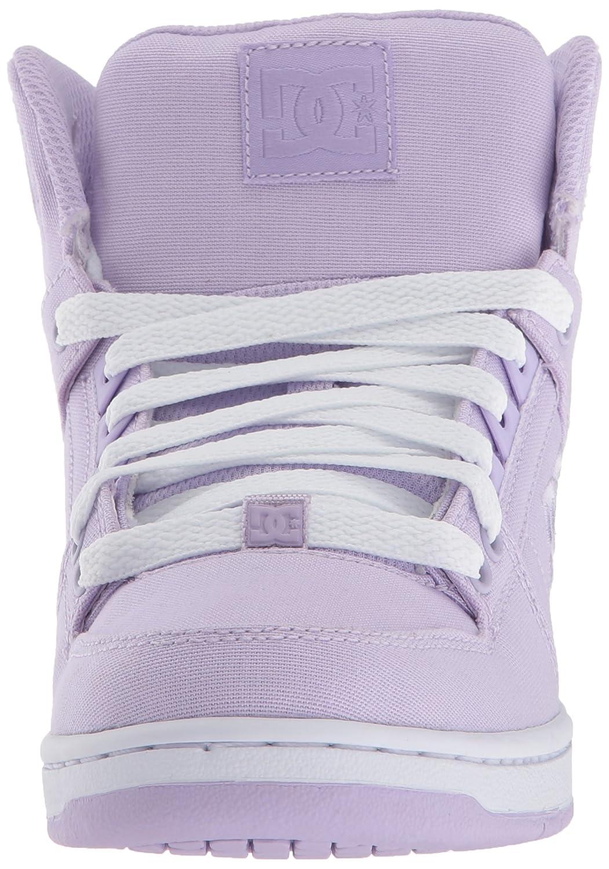 DC Women's Pure High-Top TX Skate Shoe B073214R3S 5 B(M) US|Lilac