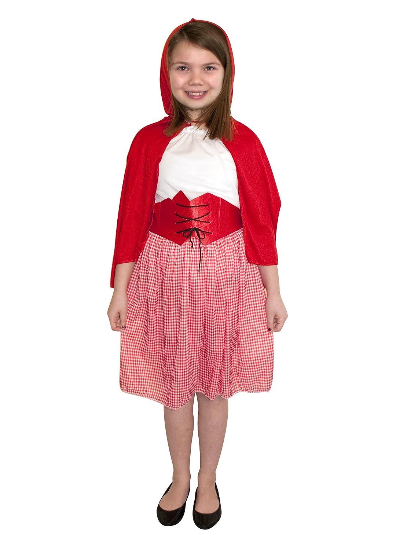 Pams - Disfraz de Caperucita Roja para niña 9 - 12 anni: Amazon.es ...