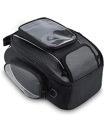 f99b9c7f86d Bolsos Magnético Depósito Hombre para Motocicletas Impermeable Alforjas  Asiento de Moto Caja de Deporte al Aire