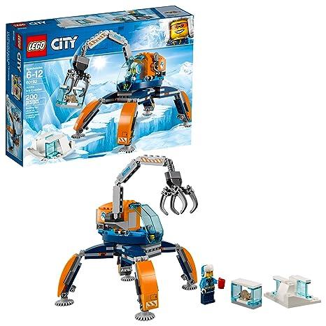 012be9b797ab Amazon.com  LEGO City Arctic Ice Crawler 60192 Building Kit (200 Piece)   Toys   Games
