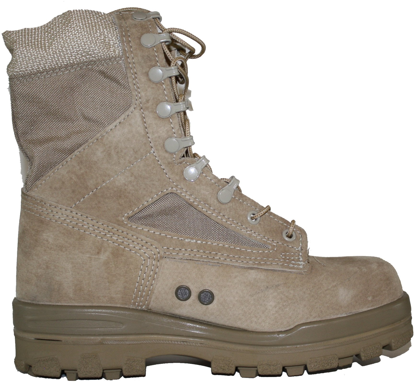 Bates Women's 8 Inches Durashocks Steel Toe Boot,Desert Sand,10 M US by Bates (Image #3)