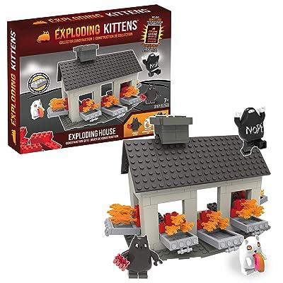 Exploding Kittens - House Scene (317 pieces): Toys & Games [5Bkhe0301226]