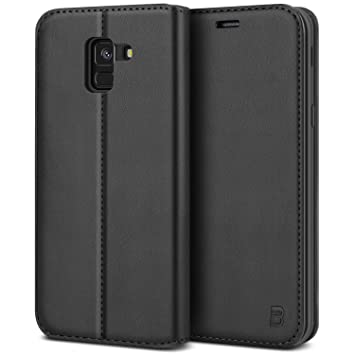 BEZ Funda Samsung J6 2018, Carcasa para Samsung Galaxy J6 2018 Libro de Cuero con Tapa y Cartera, Cover Protectora con Ranura para Tarjetas y ...