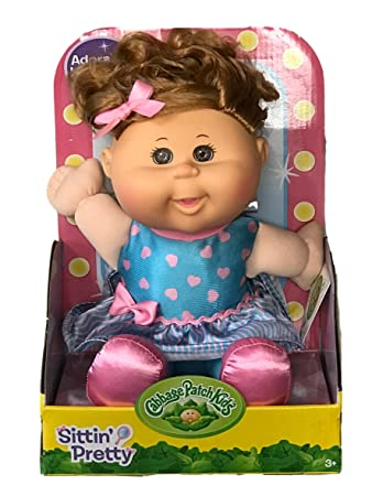Cabbage Patch Sittin Pretty Target Exclusive Brown Eyes Light Brown Hair
