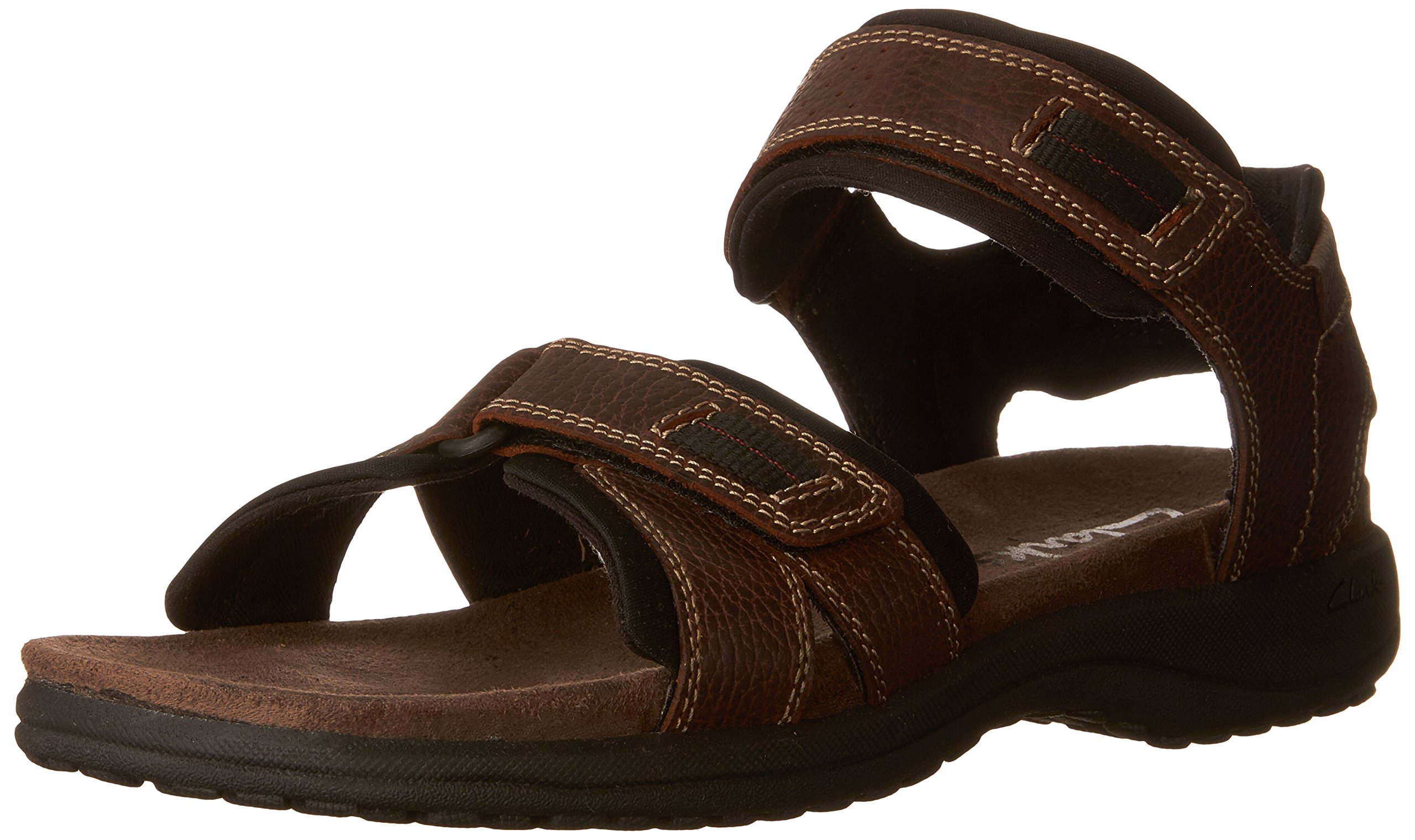 Clarks Men`S Keating Sandal,Brown Oily,13
