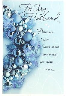 Amazon christmas card for husbandfor my wonderful husband all christmas card for husbandfor my wonderful husband all my love only for you m4hsunfo