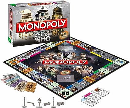 Monopoly Doctor Who 50th Anniversary - Juego de Mesa (en inglés ...