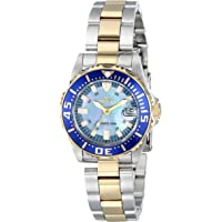 """Invicta Women's 2961 Pro Diver Collection""""Lady Abyss"""" Two-Tone Dive Watch"""
