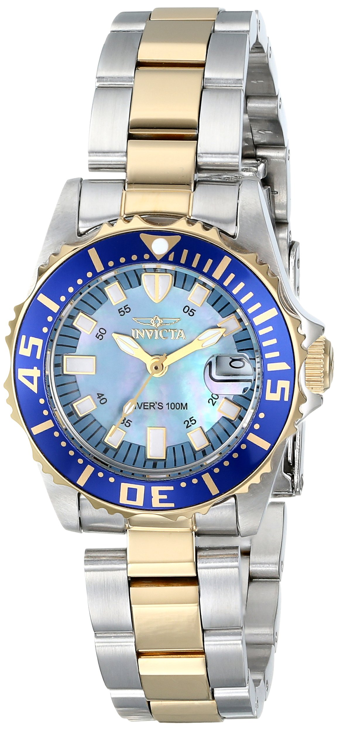 Invicta Women's 2961 Pro Diver Collection ''Lady Abyss'' Two-Tone Dive Watch