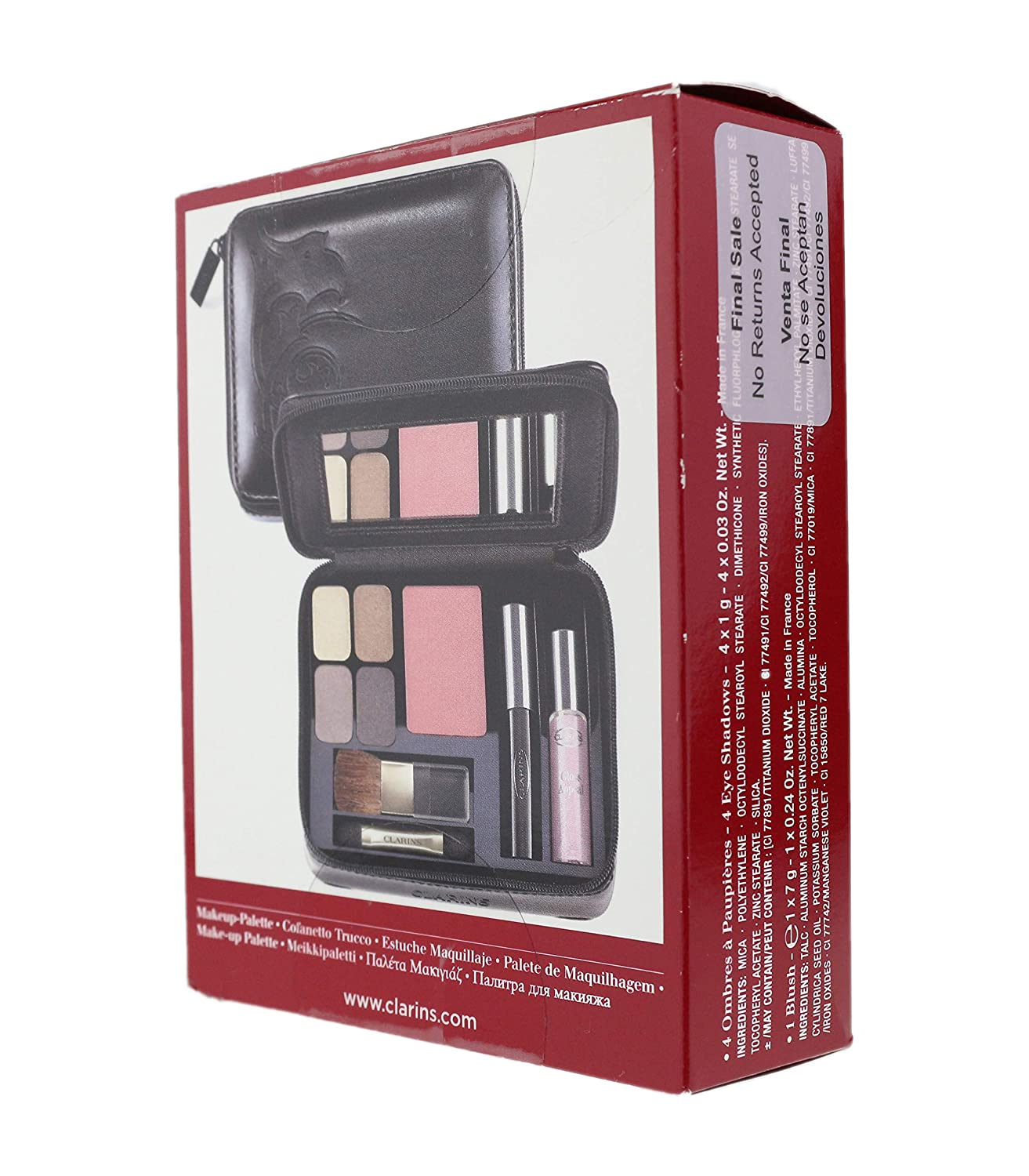 Amazon.com : CLARINS BAROCCO MAKE-UP PALETTE BRAND NEW IN BOX 4 EYE ...