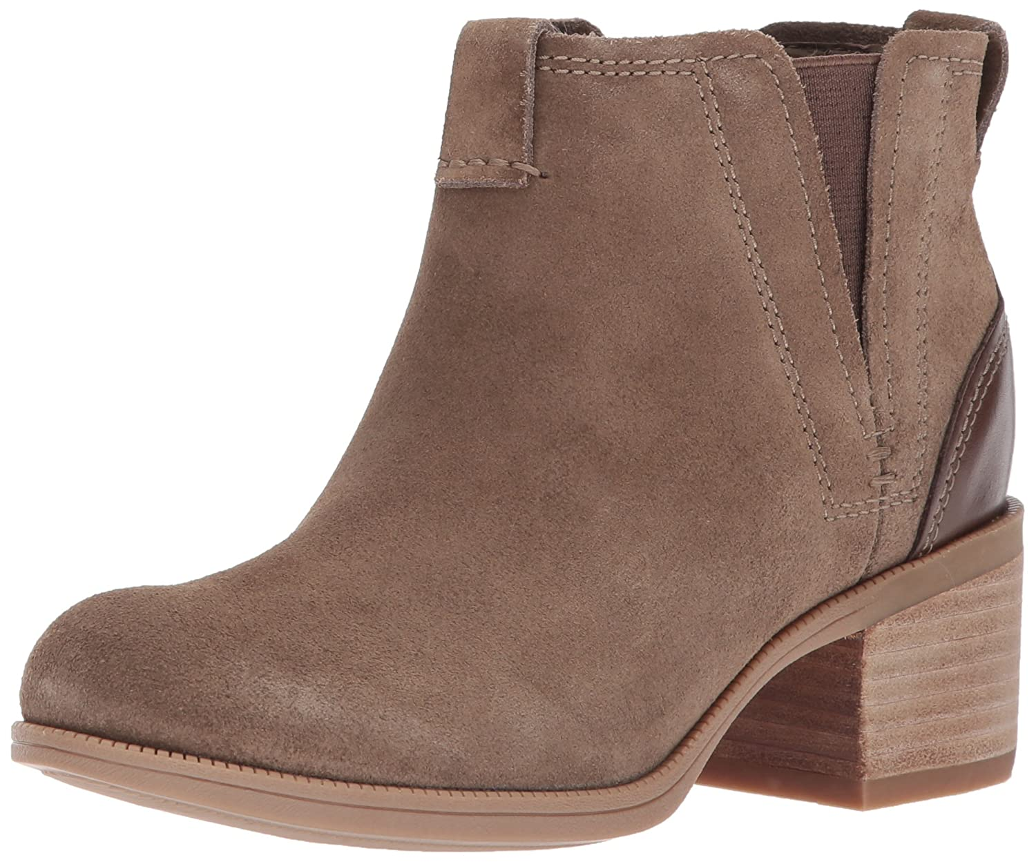 CLARKS Women's Maypearl Daisy Ankle Bootie B01MT1E5SS 7.5 B(M) US|Olive