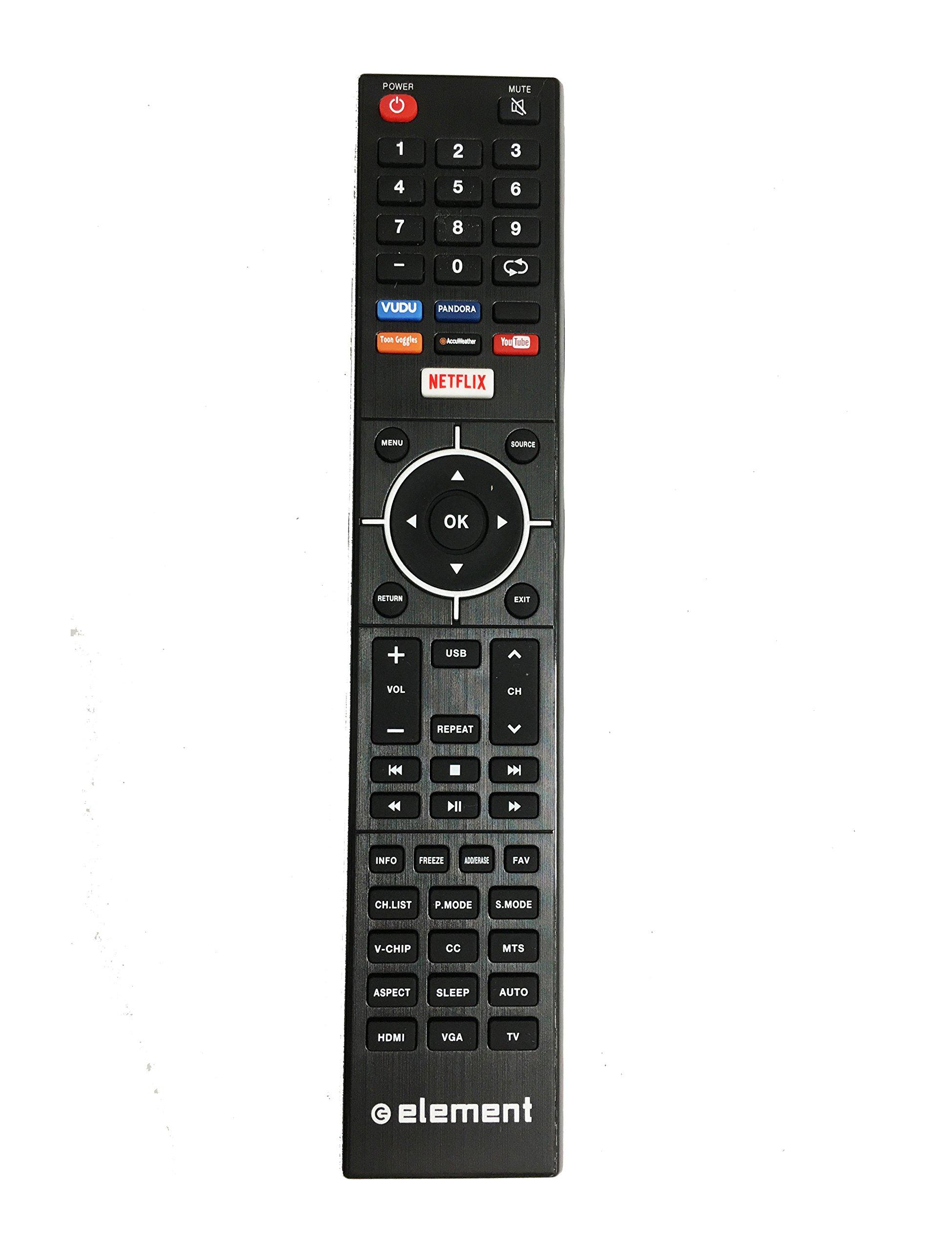 NEW Genuine Element Smart TV Remote Control for ELSJ4016, ELST5016S, ELEFJ322S, ELST4316S, ELST3216H, E4SFC551, E4SFC421, E4SFC651, E4SJ5516H, E4ST4316H