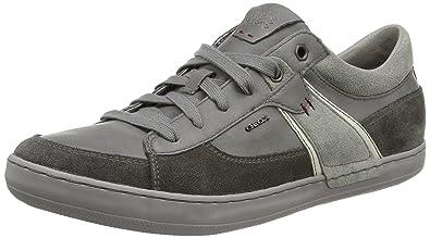 Geox U Box C, Sneakers Basses Homme - Gris (Mud/Grey) - 44 EU