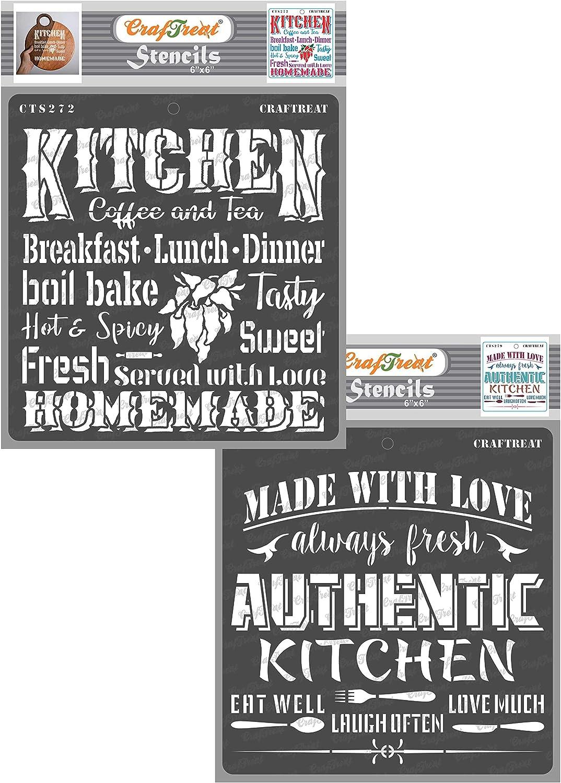 Bon Appetit STENCIL~ Kitchen Wall DECOR~ Art Craft Reusable~ FAST FREE Postage!